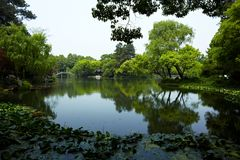 Nature park scenery, Hangzhou Stock Image