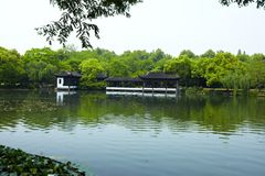 Nature park scenery, Hangzhou Royalty Free Stock Photo