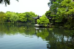 Nature park scenery, Hangzhou Royalty Free Stock Photography