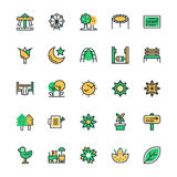 Nature, Park Vector Icons 1 Stock Image