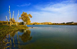 Nature park water landscape royalty free stock images