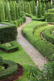 Nature path through in the garden. A beautiful nature path through in the garden Royalty Free Stock Photos