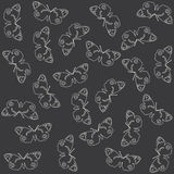Nature pattern. Grey nature pattern made by light lines Stock Images