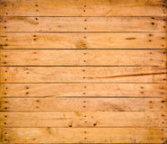 Nature  pattern detail of pine wood decorative old box wall text Royalty Free Stock Images