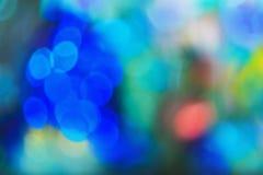 Nature light background- bokeh christmas. Illuminated decor. Nature pattern- light bokeh background. Celebratory mood magic effect. Decorations holiday- design Royalty Free Stock Photo