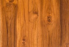 Nature  pattern of teak wood decorative furniture surface Royalty Free Stock Images
