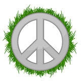 Nature Peace sign illustration Stock Photos
