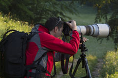 Nature photographer Stock Photos