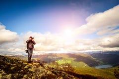 Nature photographer Royalty Free Stock Image