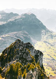 Nature Photography of Mountain Tip Stock Photo