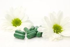 Nature pills Stock Image