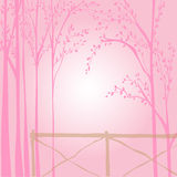 Nature Pink Background icon great for any use. Vector EPS10. Stock Image