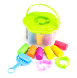 Nature Plasticine play dough modeling clay Stock Photography