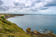 Nature in Pointe du Grouin Royalty Free Stock Photography