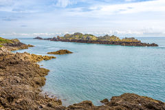 Nature in Pointe du Grouin Stock Photography