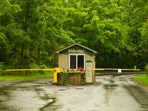 Nature preserve entrance Stock Photo