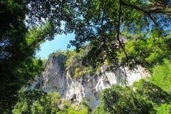 Nature pure à la réserve naturelle d'Umphang, Tak Province, Thaïlande du nord-ouest Photographie stock libre de droits
