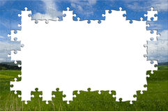 Nature puzzle Royalty Free Stock Images