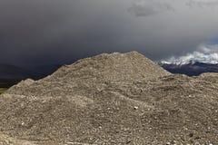Nature quarry Stock Image