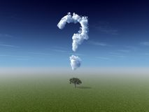 Nature question Stock Image