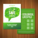 Nature rainbow leaves concept card.  Vector leaf Stock Photos