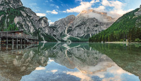 Nature reflected royalty free stock images