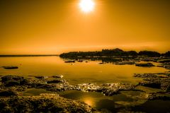 Nature, Reflection, Sky, Horizon Royalty Free Stock Images