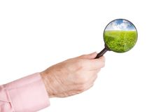 Nature research Stock Images