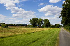 Nature reserve in Eifel, Vulkaneifel, Rheinland-Pfalz, Germany Stock Images