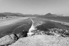 Nature reserve of Gata-Nijar`s End, Almeria. Andalusia, Spain. Cape of Good Hope of Cat is an end located in the south of the Iberian peninsula, opposite to the Royalty Free Stock Images