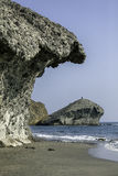Nature reserve of Gata-Nijar`s End, Almeria. Andalusia, Spain. Royalty Free Stock Image