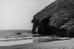 Nature reserve of Gata-Nijar`s End, Almeria. Andalusia, Spain. Stock Photo