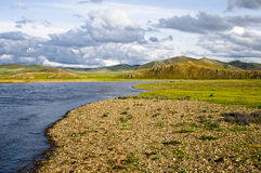 The nature reserve Mongolian Royalty Free Stock Photography