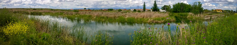 Nature Reserve Panorama - Spain Stock Photography