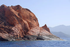 The Nature Reserve of Scandola, Corsica, France Stock Image
