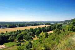 nature reserve of seine hill royalty free stock images