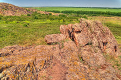 Nature reserve Stone Tombs Stock Images