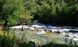Nature reserve teberda. Karachayevo-Cherkessia, Russia. Photo taken on: July 27 Saturday, 2013 Stock Images