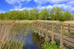 Nature reserve in Worcester park, South of London Stock Images