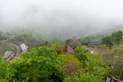 Nature resort in taiwan. Mountain national nature resort in taiwan stock photo