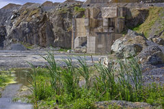 Nature Returns to a Quarry Royalty Free Stock Photo