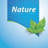 Nature ribbon Royalty Free Stock Images