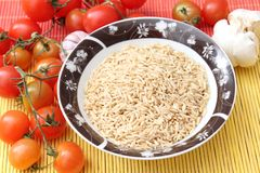 Nature rice Stock Photo