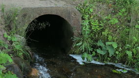 The nature of the river stream tube during the summer. The nature of the river stream tube during summer stock video footage