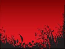Nature rouge illustration libre de droits
