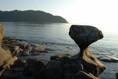 Nature's wonders. The Norwegian coast in summer Stock Photo