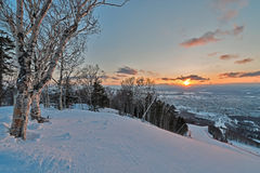 The nature of Sakhalin island, Russia. Royalty Free Stock Image