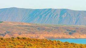 Nature scénique Washington State - le Ginkgo a pétrifié Forest State Park photo stock