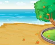 Nature scene stock illustration