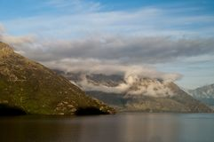 Nature Scenic Mountain Lake, New Zealand Stock Photography